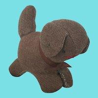 Vintage PA. Amish or Mennonite Folk Art Dog Stuffed Toy #1