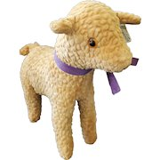 """Vintage """"Designed by Character"""" Lamb Stuffed Toy"""