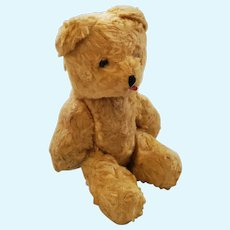 Vintage Miniature Golden Yellow Jointed English Teddy Bear