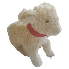 Darling Vintage Curly Mohair Lamb Stuffed Toy