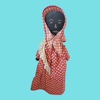 Vintage Black Americana Folk Art Bottle Doll #2
