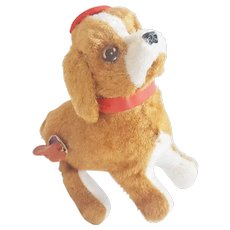 Vintage Japanese Wind-Up Flipping Dog Toy