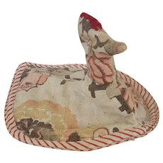Vintage Handmade Primitive Folk Art Chicken Potholder #6