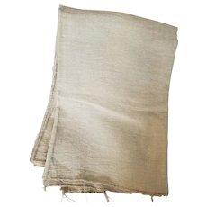 Antique Montgomery Co. PA. Homespun Fabric Yardage