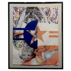 James Rosenquist - Castelli Gallery Poster- Original 1965 Lithograph