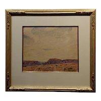 Gerald Cassidy - Desert Mesa - Painting c.1930