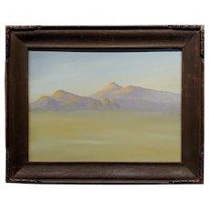 Robert Wood - California Desert Landscape - Oil painting