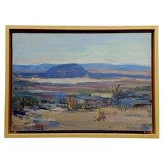 Mary Darter Coleman -California Desert Landscape -OIl painting