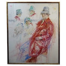 Joyce Wahl Treiman - Multi Portraits -Oil painting on canvas