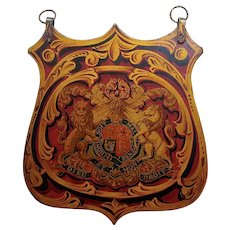 18th/19th century English Royal Coat of Arm