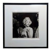 Marilyn Monroe 1953 Hollywood Silver Gelatin Photograph by Murray Garrett