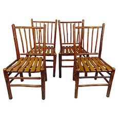 Old Hickory original Dining Chairs -Set of 4