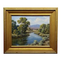 David Chapple Owens Cottonwoods Landscape California Plein Air Oil Painting