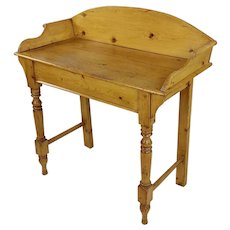 19th century Country Farm Pine Wash Stand