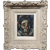 Francis Kelly Portrait of Harlequin - 1960s Expressionist Oil painting