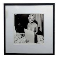 Marilyn Monroe at a 1950s Hollywood Gala Party-Original Photograph by Murray Garrett
