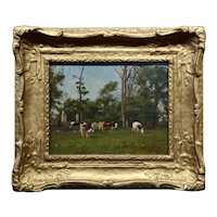 Samuel De Wilde -19th century English Pastoral Landscape-Oil painting -c1820s