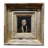 18th century Portrait of a English Aristocrat - Oil painting