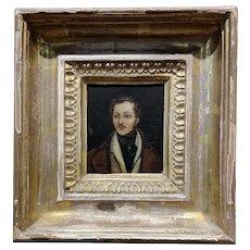 18th century Portrait of a English Aristocrat - Oil painting