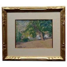 Lawton Silas Parker - 19th century Luscious Landscape -c1880s Painting