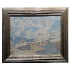 Ralph William Holmes -Grand Canyon Landscape -Oil painting