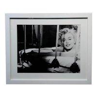 Marilyn Monroe in Bed -1954 Photograph by Minton Greene