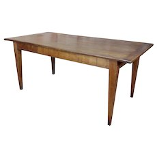 19th century Fruitwood Country French & Farm Dining Table