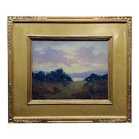 Joseph Aaron-After Sunset California Plein Air Landscape-Oil painting