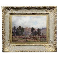 Anna Hills -California Impressionist 1913 Plein Air Landscape -Oil painting