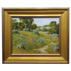 David Chapple -California Springtime Wildflowers - Oil Painting