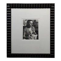 Horace Bristol -Portrait of Migrant Mother Breastfeeding-1937 Silver Gelatin