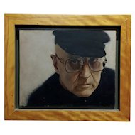 Paul Fenniak  -Portrait of Rod Steiger -Oil painting