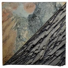 Laddie John Dill - Untiled Mix Media Abstract - Painting