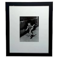 Willy Ronis - Le Petit Parisien 1952 -  Silver Gelatin Photograph