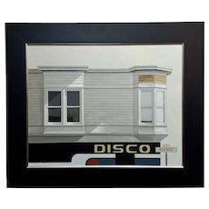 Sergon - Disco Avenue - Oil painting on canvas