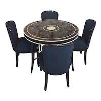 J. Robert Scott -Fabulous 4 Black Chairs