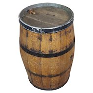 19th century Antique Oak Wine Barrel -circa 1840/1860s