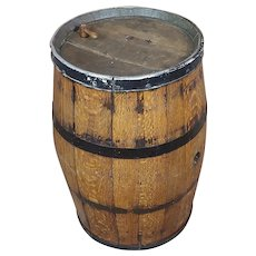 19th century Antique Oak Wine Barrel -circa 1840/1860s