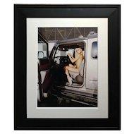 Paris Hilton Nude with Tinkerbell - Original Photograph-Signed