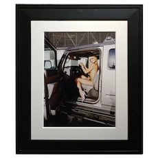 Paris Hilton Nude with Tinkerbell - Original Photograph-Signed