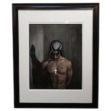 Dan Winters - Tupac Shakur ,Hollywood,CA1994 -Original numbered Print -Signed