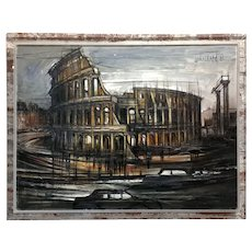 Regis De Cachard - Colosseum in Rome 1962 -Oil painting