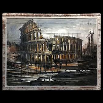 Regis De Cachard - Colosseum in Rome 1962 -Oil painting