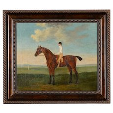 Francis Sartorius -18th century English Oil Painting of a Racehorse with Rider