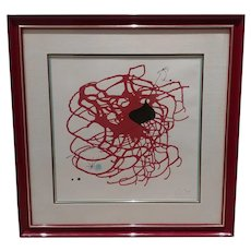 Joan Miro - Hors de Commerce Limited Edition Lithograph -Pencil Signed