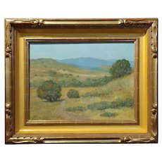 Frank Coburn - Beautiful California Impressionist Landscape -Oil painting