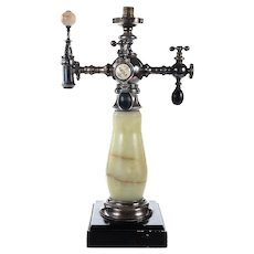 Antique Marble soda fountain Tap stand made by Robert M. Green & Sons-Rare