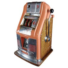 Mills Horseshoe - Beautiful 1940s Vintage 5c Slot Machine