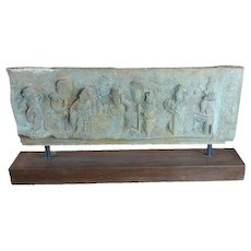 Chinese Ming Dynasty carved Temple Stone Slab
