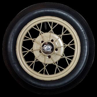 Ford Model A Original 1920/30s wire spoke Wheel w/INSA Tire